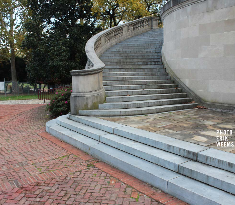 Stairs at the Carillon Bell Tower