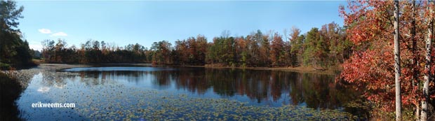 Cosby Lake Autumn