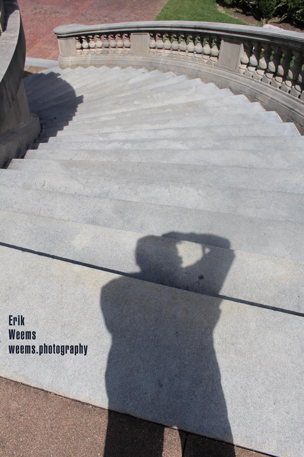 Weems Photography on steps of Carillon