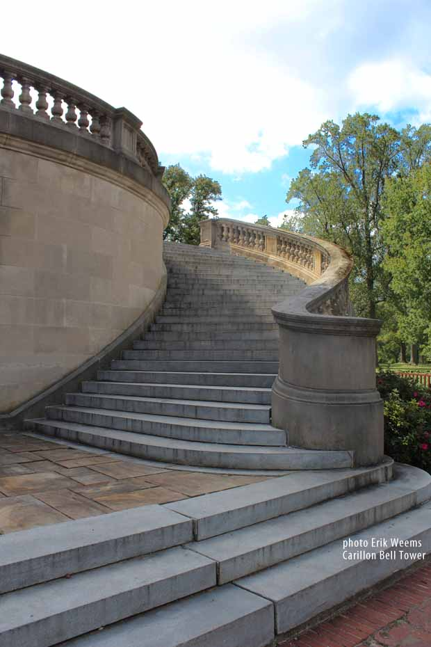Bell Tower steps